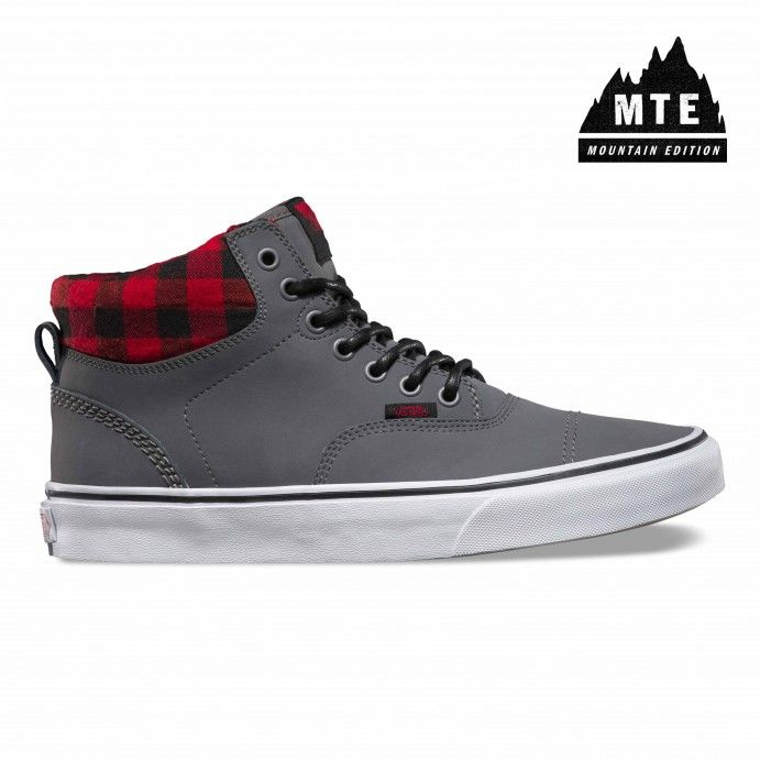 Vans Era Hi MTE Shoes (MTE) nubuck/grey - Vans Netherlands Official Online