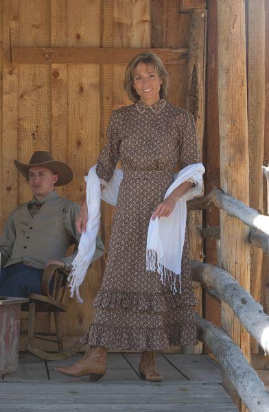 Prairie Schooner Dress Old West Dresses In Woman S