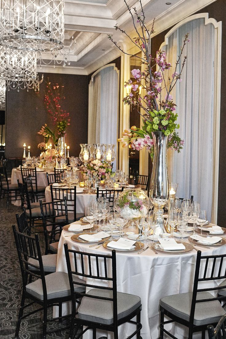 wedding reception places in twin cities%0A Modern Ballroom Wedding at the Waldorf Astoria Chicago
