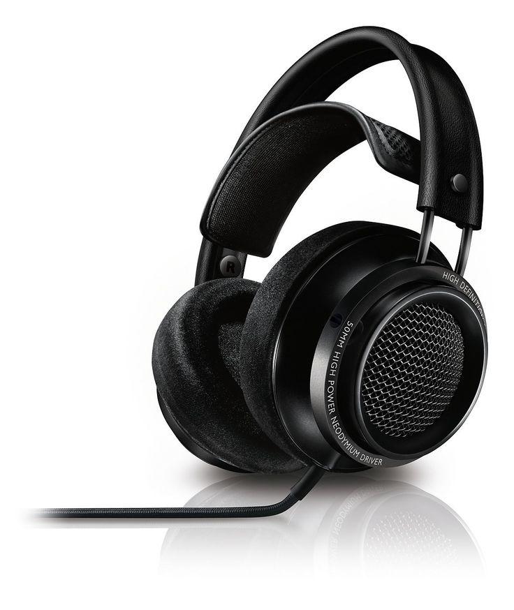 Philips X2 Casque audio filaire son haute résolution Hi-Res, Basses profondes, Câble détachable, Noir: Amazon.fr: High-tech