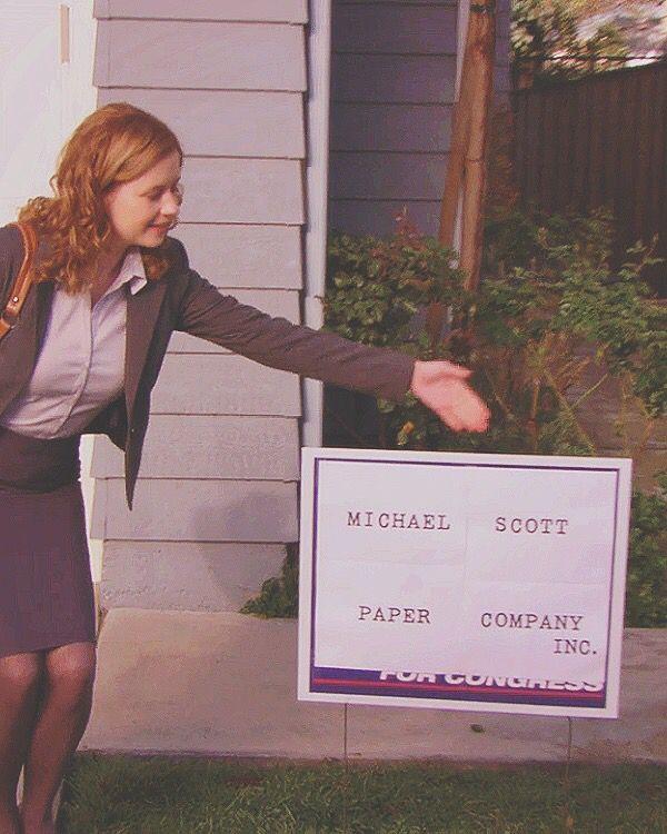 Michael Scott Paper Company Inc. | Pam Halpert