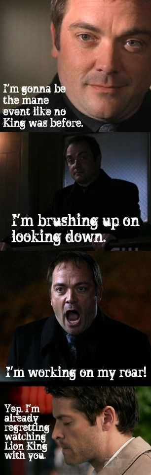 supernatural crowley quotes | Crowley - Supernatural Fan Art (26784625) - Fanpop fanclubs