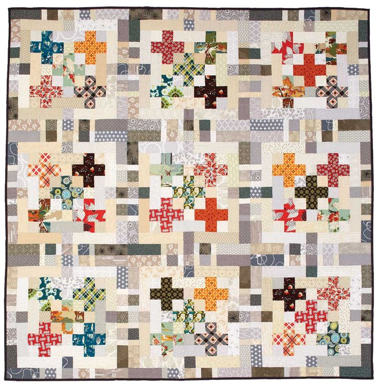 424 best PLUS/CROSS QUILTS images on Pinterest | Jellyroll quilts ... : cross patch quilting - Adamdwight.com