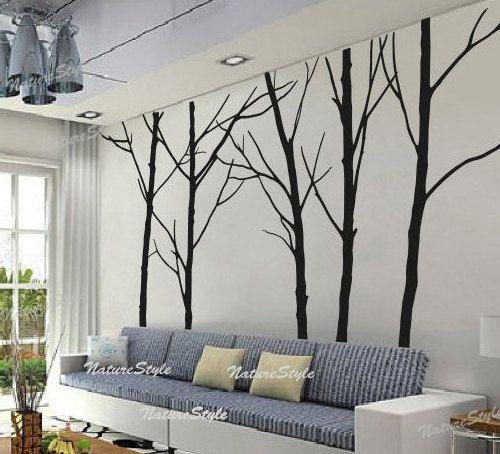 Tree Sticker Wall Decor 72 best wall art images on pinterest | tree wall decals, vinyl