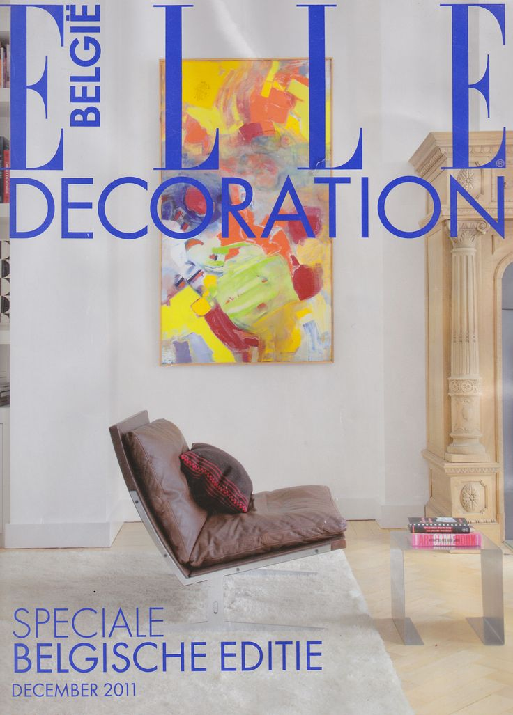 bo-561 on the cover of Belgian ELLE Decoration