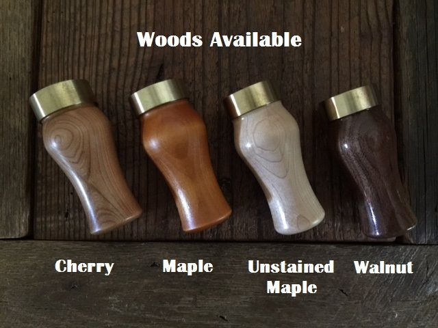 personalized, engraved wood duck calls