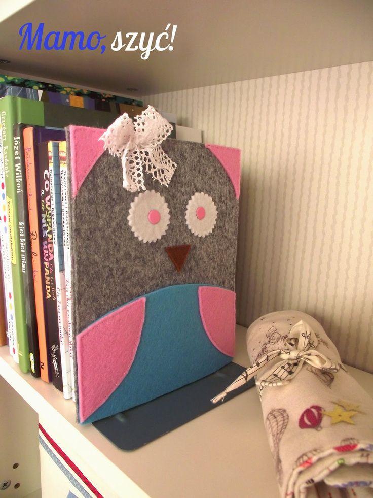 Mamo, szyć!: Mądra sowa. Podpórka do książek