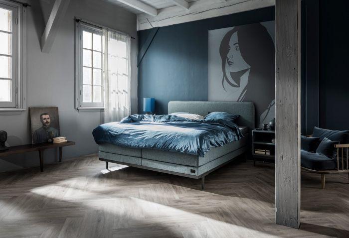 Boxspringbett Lifestyle Pepper In 2020 Green Bedroom Walls Home