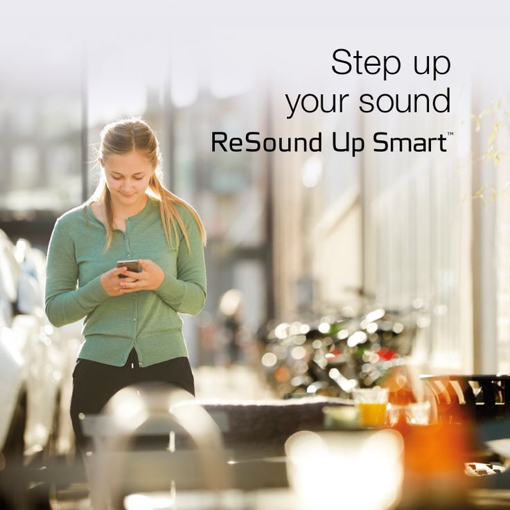 Step up your sound with ReSound Up Smart.  Visit resound.com/en-AU/hearing-aids/up-smart