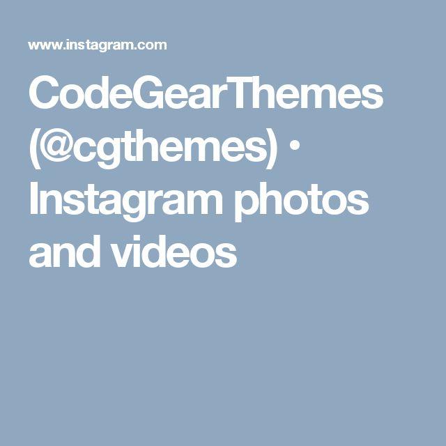 CodeGearThemes (@cgthemes) • Instagram photos and videos