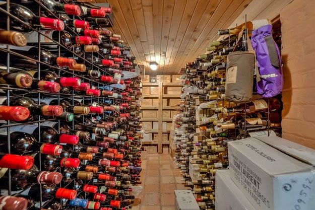 Who wouldn't want his own wine cellar?