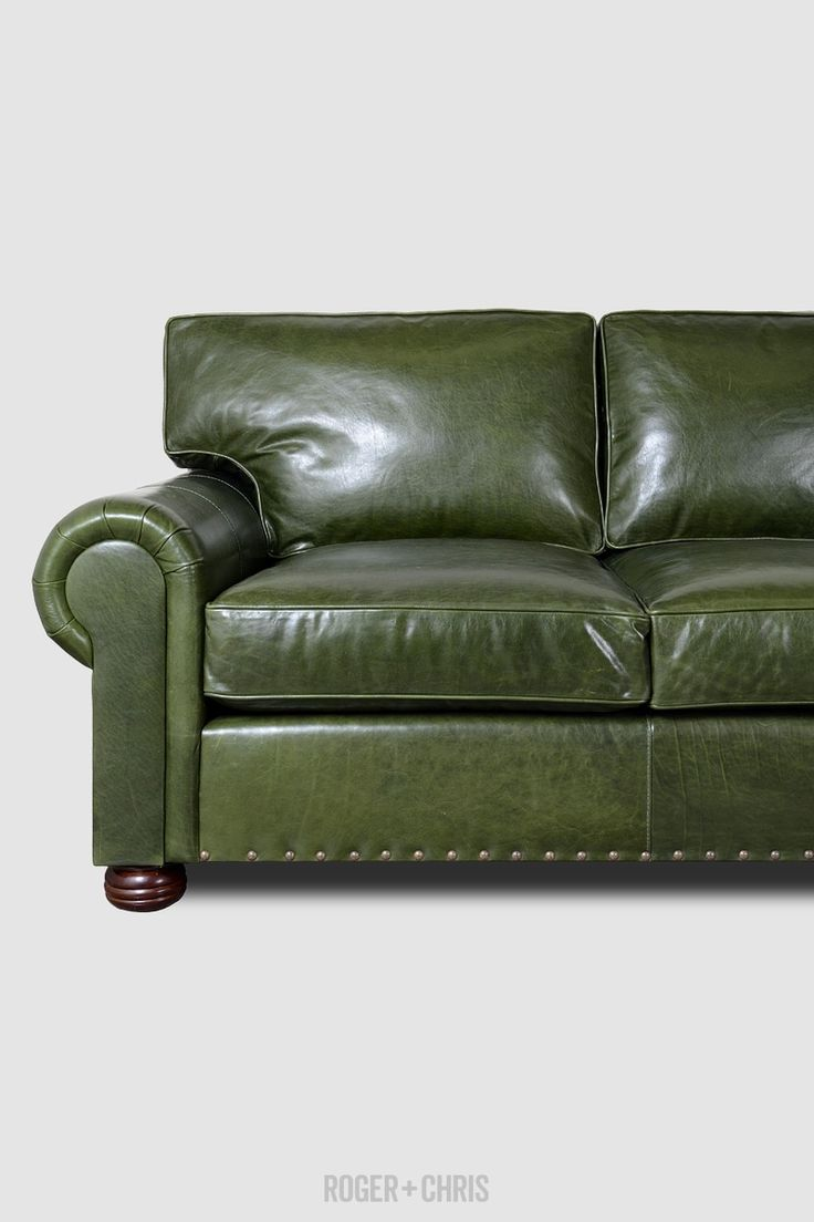 Best 25 Green Leather Sofa Ideas On Pinterest Green Leather Sofas Green Chairs And Chair Design