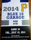 For Sale: Parking Pass for Blue 10 Garage for Friday July 18 Pittsburgh Pirates Game http://sprtz.us/PiratesEBay