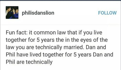 Common law marriage is actually variable by state. Also they live in the UK so their laws are different. But this is still cute so.