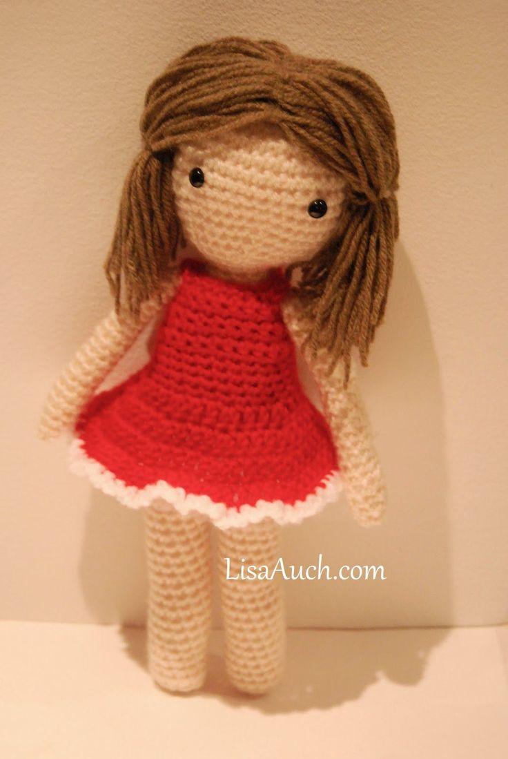 Amigurumi Basic Doll : 17 Best images about Dolls on Pinterest Amigurumi doll ...