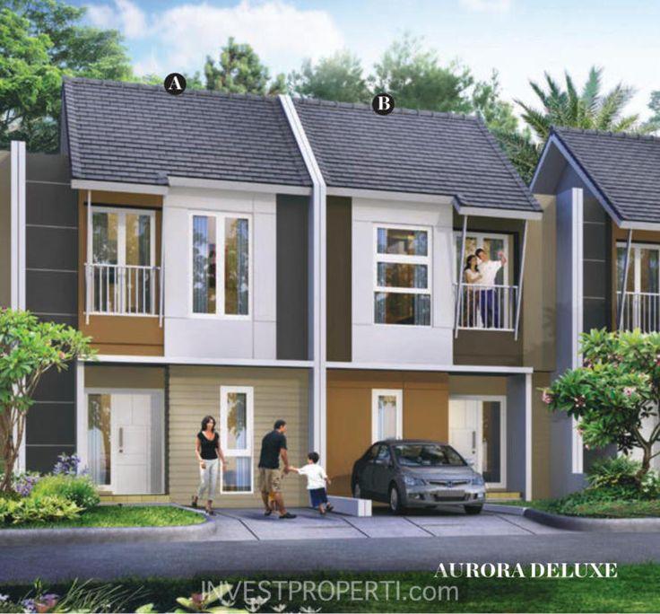 Rumah Cluster Avani Homes Summarecon Emerald Karawang tipe Aurora. #avanihomes #summareconkarawang #avanihomes