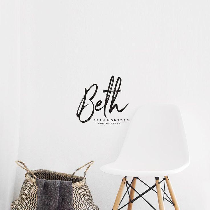 Logo Design for Beth Hontzas Photography (@designedbyeden) on Instagram
