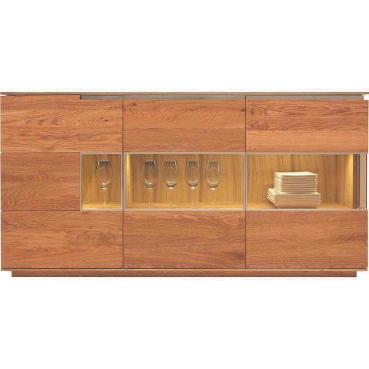 CASSANDO SIDEBOARD mehrschichtige Massivholzplatte (Tischlerplatte) gebürstet, geölt Braun Jetzt bestellen unter: https://moebel.ladendirekt.de/wohnzimmer/schraenke/sideboards/?uid=5e561ba5-a173-549c-a3b6-bea7dd342b87&utm_source=pinterest&utm_medium=pin&utm_campaign=boards #schraenke #wohnzimmer #sideboards