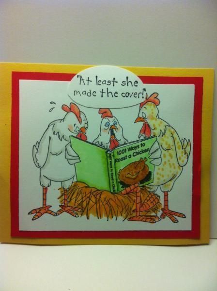 32 Best Chicken Cards Images On Pinterest Chicken Art Impressions
