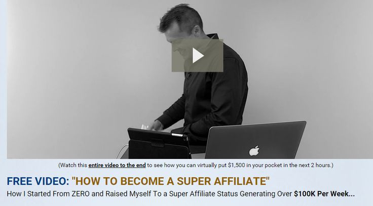 Can you imagine going from zero to pulling over $10K, $20K and even $100K per week in commissions selling other people's products?  Yes, its possible and it's called being a Super Affiliate.  Would you like to learn how to become a super affiliate from somebody who is pulling over $600K per month right now? Just go ahead and WATCH the Video!