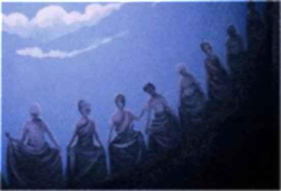 """Leggende  -  Le donne di fuora Era credenza che le """"signore"""" costituivano una società di 33 potenti creature, le quali erano sotto la dipendenza di una mamma maggiore, che si trovava a Messina. Tre volte la settimana, le notti di  #credenza #donnefuora #inferi #signore"""