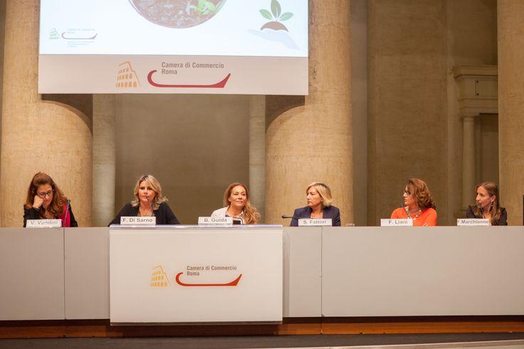 """Ho il piacere di condividere le foto dell'evento al quale ho partecipato come relatrice il 13 ottobre 2015 su: """"CULTURA E START UP D'IMPRESA AL FEMMINILE, quali semi per coltivare i talenti imprenditoriali femminili"""". L'incontro, promosso dal Comitato Imprenditorialità Femminile della Camera di Commercio di Roma, ha rappresentato un'importante occasione per confrontarsi su modelli, strumenti ed esperienze che si sono rivelate efficaci nel promuovere e sostenere l'impresa a guida f"""