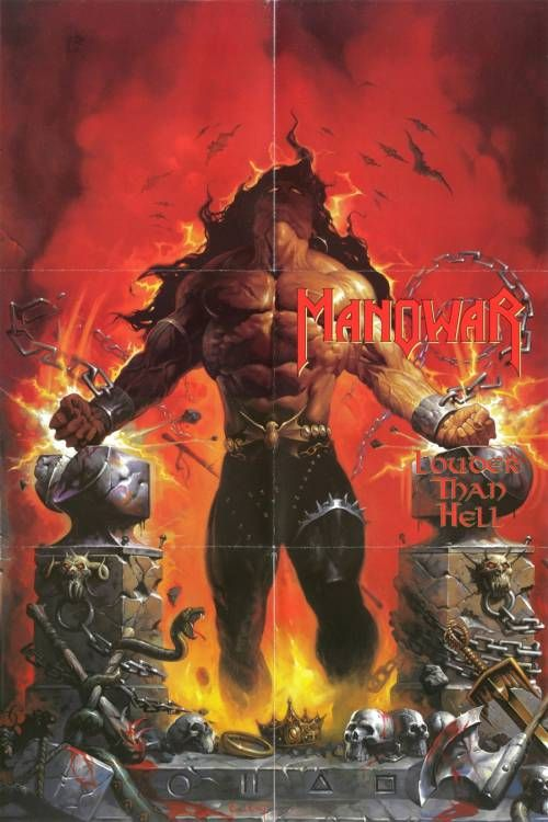 "April 29, 1996 Manowar - Louder Than Hell (1996)  ""The Gods Made Heavy Metal!"" \m/"