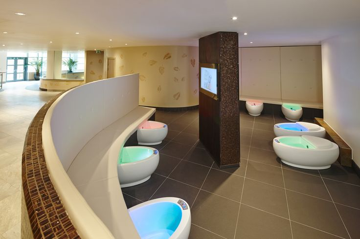 The Reflexology Foot Baths at the Aqua Sana Woburn Forest
