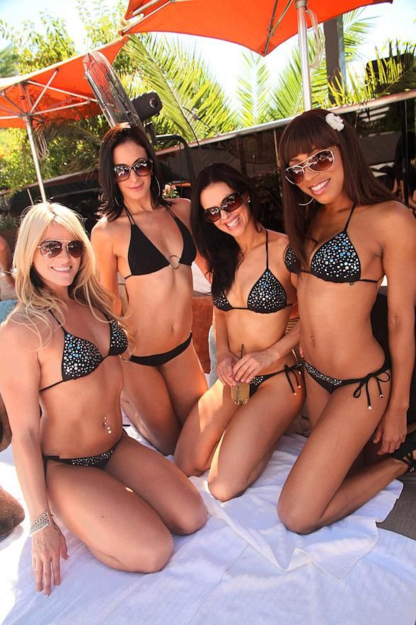 FANTASY Beauties Host Industry Party at Bare Pool Lounge