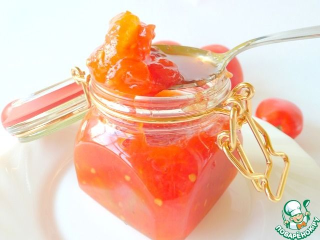 Томатный джем или соус к мясу ингредиенты