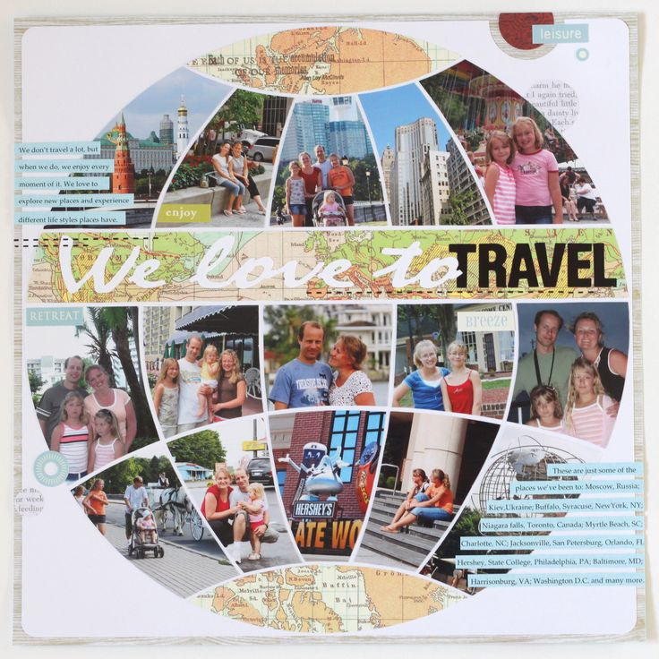 Celebrity travel quotes for scrapbooking