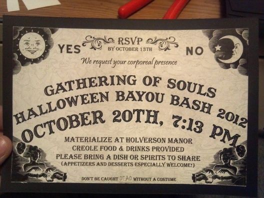 8 best images about Ouija on Pinterest Ouija, Invitations and - best of invitation party card