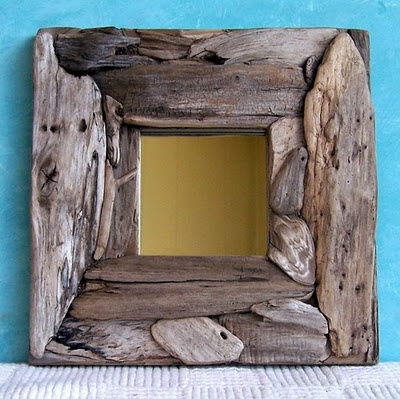Mirror/frame idea for driftwood