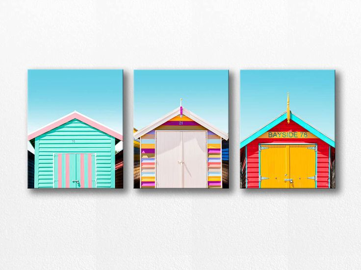 beach house canvas wall art set beach photography canvas print 11x14 16x20 fine art photography nautical decor beach canvas art blue red by mylittlepixels on Etsy https://www.etsy.com/listing/224986769/beach-house-canvas-wall-art-set-beach
