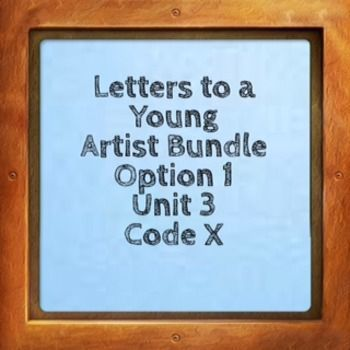 Everything you need to teach Letters to a Young Artist by Anna Deavere Smith This bundle contains each of the following packages.  Read the package summary below:  A)Academic Vocabulary Package:   A very detailed lesson on the Academic Vocabulary in Letters to a Young Artist.
