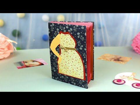 Сегодня мы оформим невероятный скрап-альбом беременности. Этот милый альбом с кармашками заботливо сохранит все моменты счастливого ожидания малыша! #скрапальбом #дневник #беременность