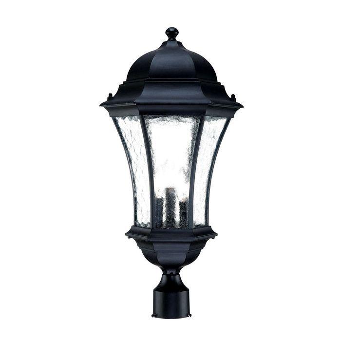 Acclaim Lighting Waverly 3 Light Outdoor Post Light & Reviews | Wayfair