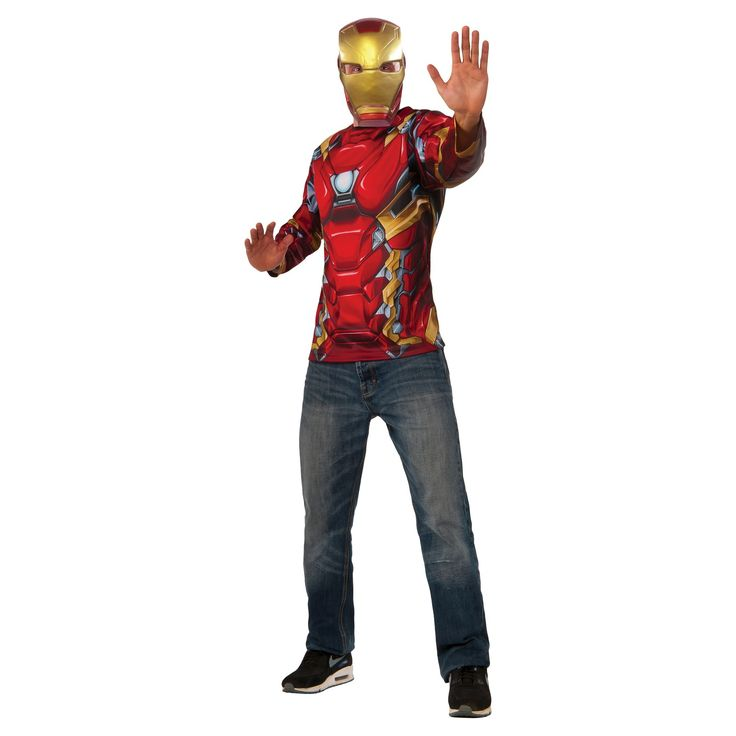 Best 25 captain america mask ideas on pinterest captain - Masque iron man adulte ...