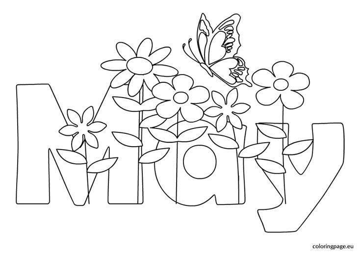 free may flowers coloring pages - photo#21