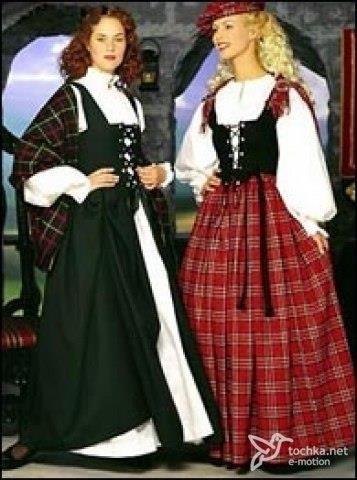 Ирландия национальное платье