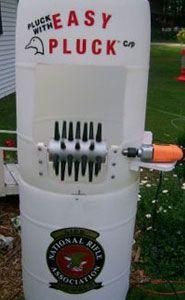 Easy Pluck™ Chicken Plucker Installed w/Barrel
