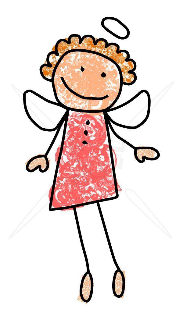 stick figure clip art | Angel Stick Figures Clip Art | Stick Figures Clip Art Depot