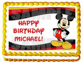 Best 25 Mickey Mouse Cake Topper Ideas On Pinterest