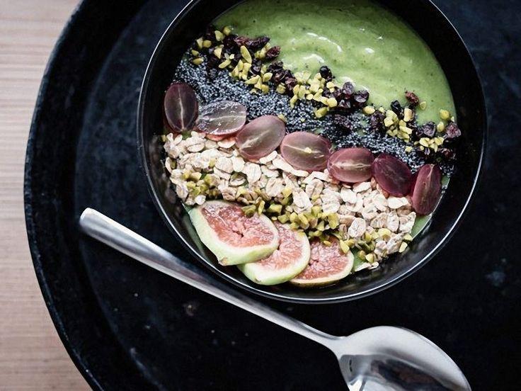 DIY-Anleitung: Grüne Smoothie-Bowl mit Avocado und Mango zubereiten via DaWanda.com