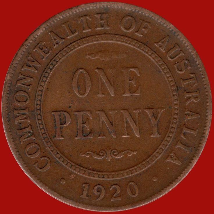 Scarce 1920 No Dot Penny VF +Condition CV= $95