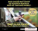 Dvere do nekonečného online sveta máme všetci ako na dlani v podobe smartfónov. Keď tieto dvere otvoríme, často tým zatvárame dvere offline sveta. Prednáška o dôsledkoch online sveta na naše zdravie a šťastie. Už dnes večer v KC Dunaj v Bratislave.  Digitálna pasca - ako seba a svoje deti nechávame oberať o zdravý rozum, dobré vzťahy a zmysluplný život. Udalosť je tu: https://buff.ly/2tlzmcK Lístky sa dajú kúpiť tu: https://buff.ly/2tlznxk  post z FB Psychológia šťastia
