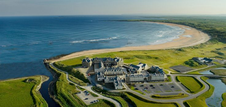 The Lodge at Doonbeg, The golf links here play out on to the Atlantic Ocean! Amazing...