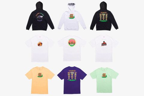 """This article talks about Tyler the creator not only talking about his first permanent GOLF store, which sells his popular clothing brand, but he also shared his new """"Camp Flog Knaw"""" pieces which is a branch off from his other clothing. This isn't mentioned in the article but I know his previous drops sell out in minutes so this is expected to do the same. 10/26/17 Serina Sabedra"""