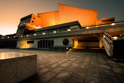 Philharmony in Berlin, Germany. #concerthall #europe #architecture #music