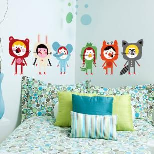 Autocolant Animals 59 x 70 cm